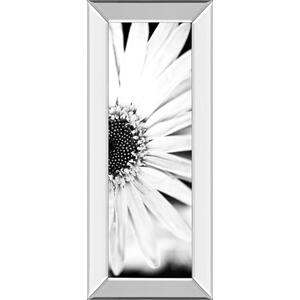 """""""White Bloom 2"""" By Susan Bryant Mirror Framed Print Wall Art"""