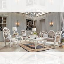 See Details - 3pc Salon Sofa Set