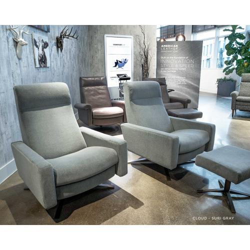 Cloud Sleek Recliner - American Leather