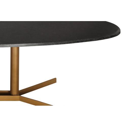 Tov Furniture - Gemma Black Marble Coffee Table