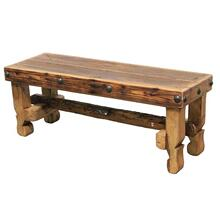 """View Product - 48"""" Old Wood Bench Seat"""