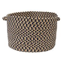 """View Product - Burmingham Basket BU55 Blue Crest 14"""" X 10"""""""