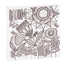 """See Details - """"Bloom"""" Magnet Block."""