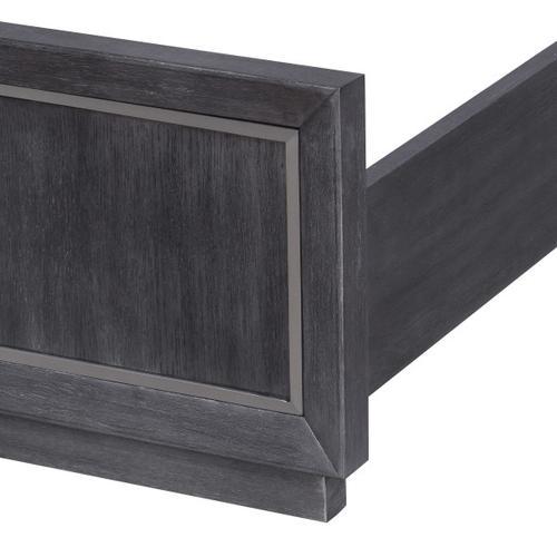 Pulaski Furniture - Echo King Set of Side Rails in Charcoal