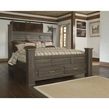 Juararo King/california King Poster Storage Footboard