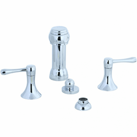 Brookhaven - Vertical Spray Bidet Fitting - Brushed Nickel