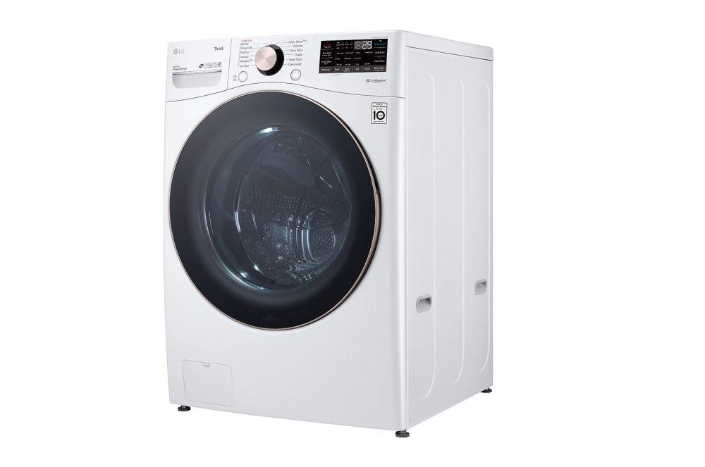 4.5 cu. ft. Ultra Large Capacity Smart wi-fi Enabled Front Load Washer with TurboWash™ 360(degree) and Built-In Intelligence Photo #5
