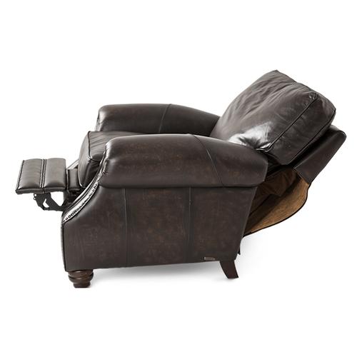 Stanton Leather Reclining Chair in Vintage Espresso