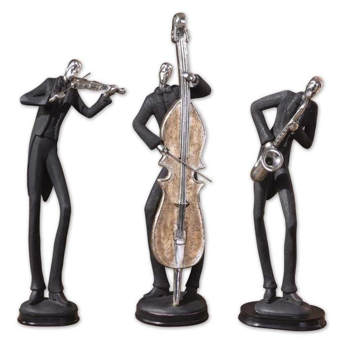 Uttermost - Musicians Figurines, S/3