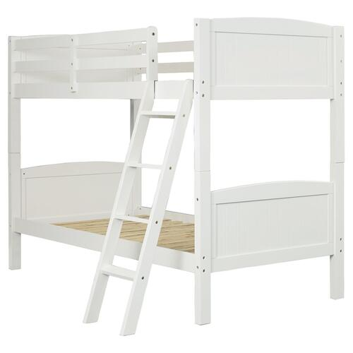 Kaslyn Twin Over Twin Bunk Bed