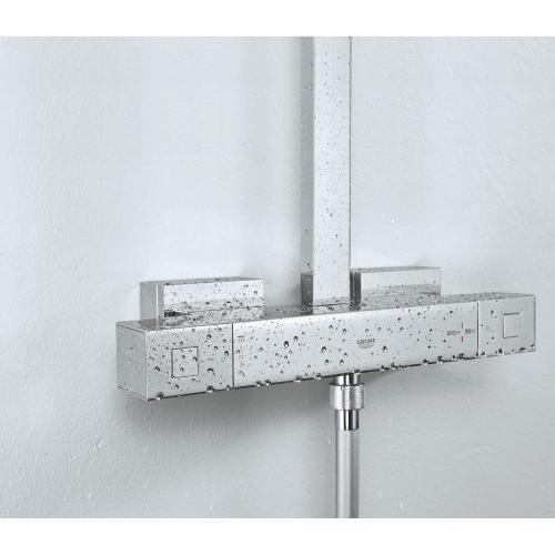 Euphoria Cube Thermostatic Shower System