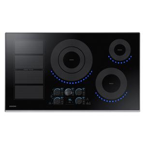 """Samsung Appliances36"""" Smart Induction Cooktop in Stainless Steel"""