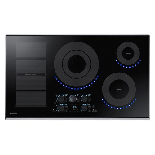"36"" Smart Induction Cooktop in Stainless Steel"