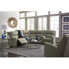 California Fabric Reclining Sectional