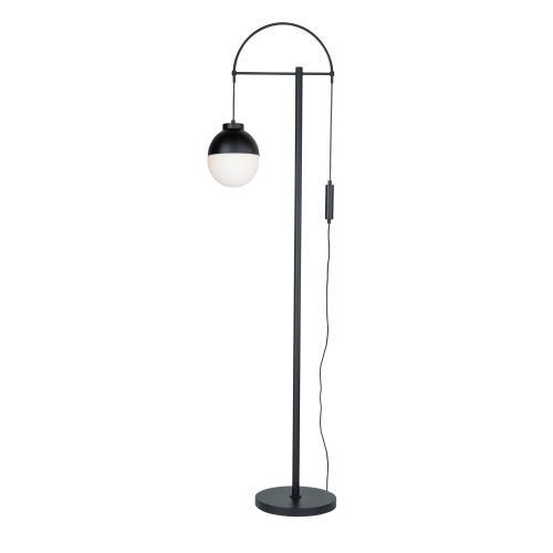 Artcraft - CORTINA BLACK FLOOR LAMP