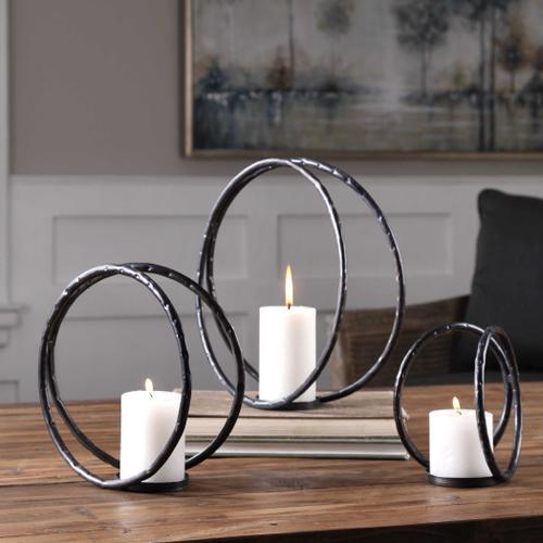 Pina Candleholders, S/3