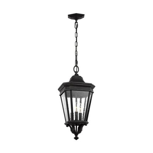 Feiss - Cotswold Lane Small Pendant Black