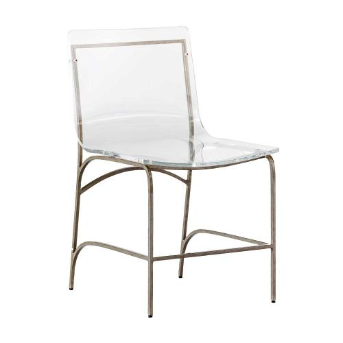 Penelope Dining Chair-Silver