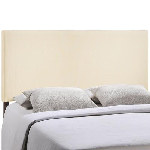 Modway - Region King Upholstered Fabric Headboard in Ivory