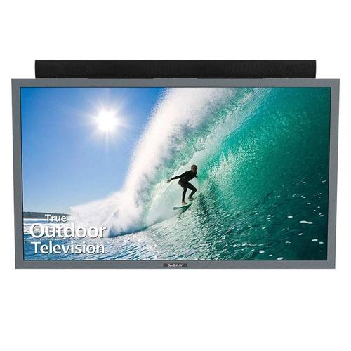 """Factory Recertified - 55"""" Pro Series Direct-Sun Outdoor HDTV SB-5518HDR - Silver"""