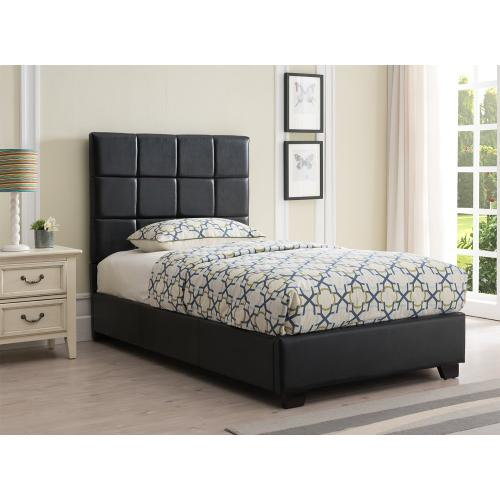 Kenora Platform Bed - Twin, Black