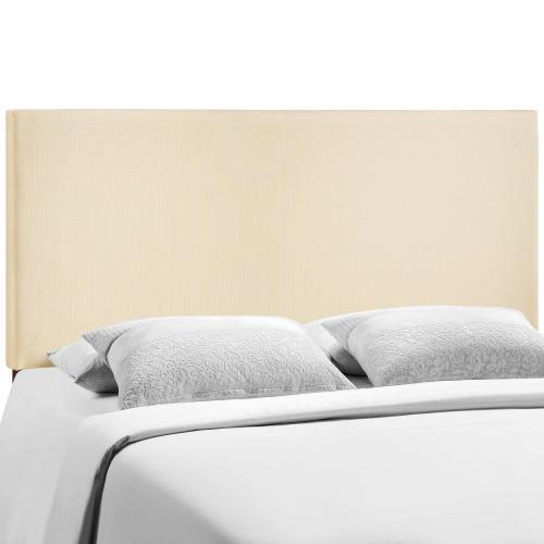 Region Queen Upholstered Headboard in Ivory