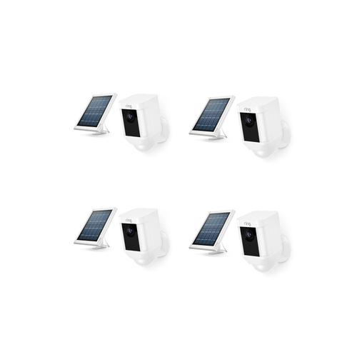 4-Pack Spotlight Cam Solar - White