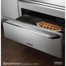 "EWD24SCH - Renaissance 24"" Epicure Warming Drawer, in Stainless Steel with Chrome Trim"