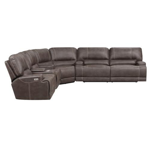 Emerald Home Furnishings - Convertible Power Reclining Sectional