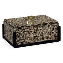 Rectangular box with brass handle