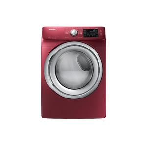 Samsung7.5 cu. ft. Electric Dryer with Steam in Merlot
