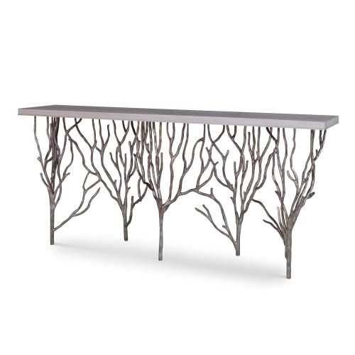 Forest Console Table - Champagne