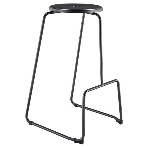 Napa Metal Bar Stool, Metallic Gunmetal