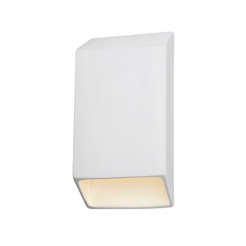 Large ADA Tapered Rectangle LED Wall Sconce (Closed Top)