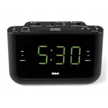 USB Charging Clock Radio With Dual Wake