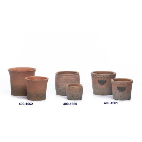 Alfresco Home - Flared Hermitage Petits Pots - Set of 2