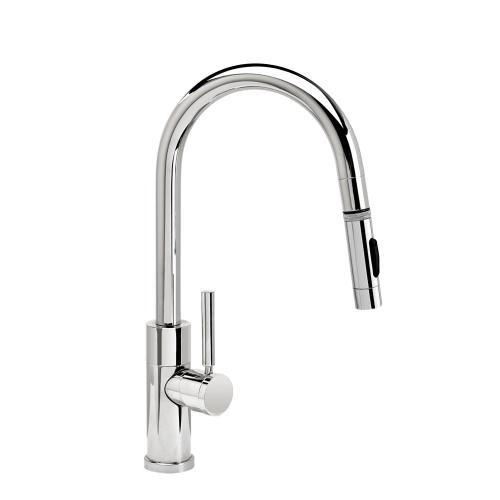 Modern Prep Size PLP Pulldown Faucet - Angled Spout - 9960 - Waterstone Luxury Kitchen Faucets
