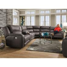 Product Image - 6 pc. Power Sectional w/ Powered Headrests