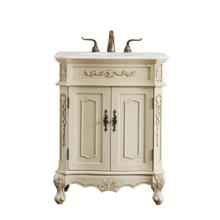 27 in. Single Bathroom Vanity set in light antique beige