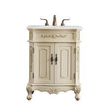 27 in. Single Bathroom Vanity set in light antique beige