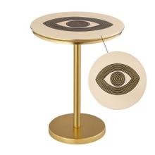 View Product - Eye Handpainted Side Table