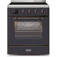 30 Inch Matte Graphite Electric Freestanding Range