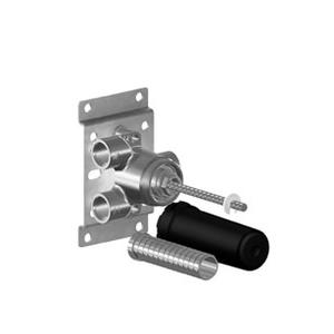 Wall mounted two-way diverter