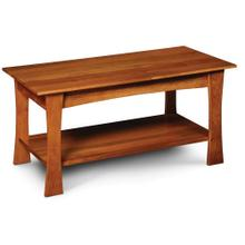 """View Product - Logan Coffee Table, 36""""w x 18""""d x 18""""h"""