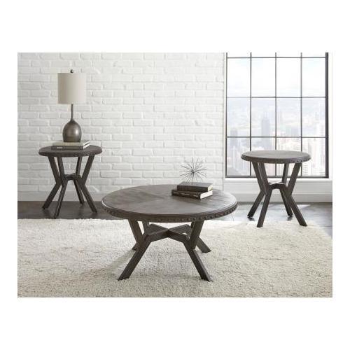 Alamo Round End Table