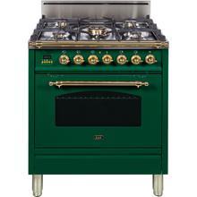 30 Inch Emerald Green Liquid Propane Freestanding Range