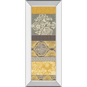 "Classy Art - ""Le Souk VI"" By Pela Studio Mirror Framed Print Wall Art"