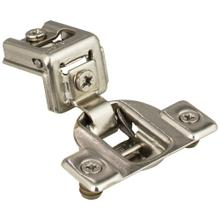 """See Details - 105° 1-1/4"""" Overlay Standard Duty Self-Close Compact Hinge with 2 Cleats and 8 mm Dowels"""