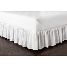 "Peyton Ruffle RLSKT-1002 80""L x 78""W x 15""DL"