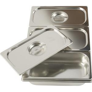 Bain-Marie (3 Stainless Steel Basins)